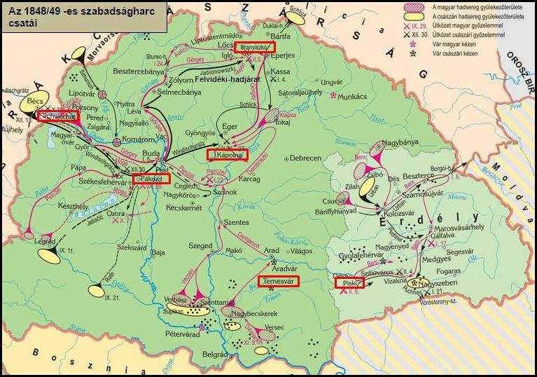 Az 1848 49 Es Forradalom Es Szabadsagharc Tortenelemcikkek Hu